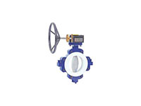 Full Lug, Wafer, Lever and Gear Operated Metal Disc Butterfly Valves