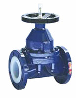 4 to 8 Inch (in) Size Rising Handwheel Diaphragm Valves