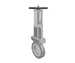 Hand Wheel Operated Bonnet, Packing, and Gland Type Soft Seat Knife Gate Valves