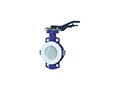 Wafer Lined Lever Operated Butterfly Valves
