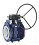 PFA Lined Gear Operated Plug Valves